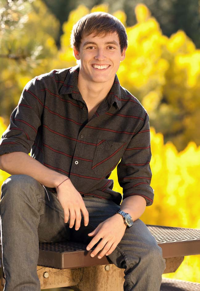 Denver high school senior portrait